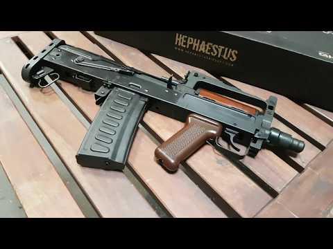"Hephaestus HTS-14 ""GROZA"" in Anareus Airsoft Shop"