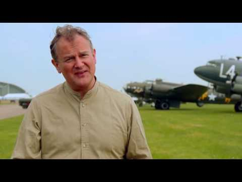 "The Monuments Men: Hugh Bonneville ""Donald Jeffries"" On Set Interview"