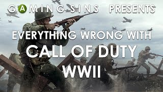 Video Everything Wrong With Call Of Duty WWII In 12 Minutes Or Less   GamingSins MP3, 3GP, MP4, WEBM, AVI, FLV Oktober 2018