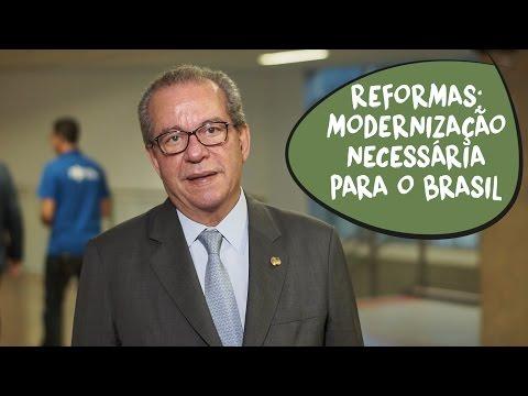 José Aníbal: modernização com as reformas