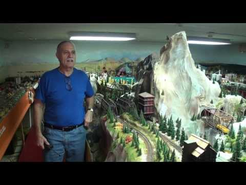 railroad - John Muccianti spent 30+ years building this H.O. model train layout and this is the 1rst video for the public to view. This could be one of the greatest H.O...