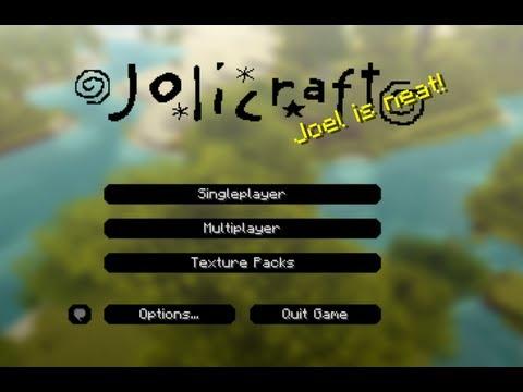 【テクスチャーパック】Joli Craft