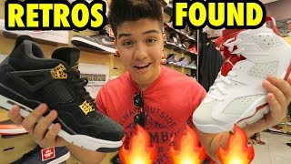 SNEAKER SHOPPING FOR HEAT AT THE MALL!!