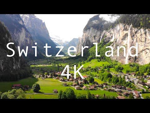 A Cozy Swiss Village in the Midst of Rocky Alpine Cliffs