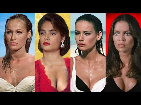 JAMES BOND GIRLS ⭐ Then and Now 1962 - 2021 | Real Names
