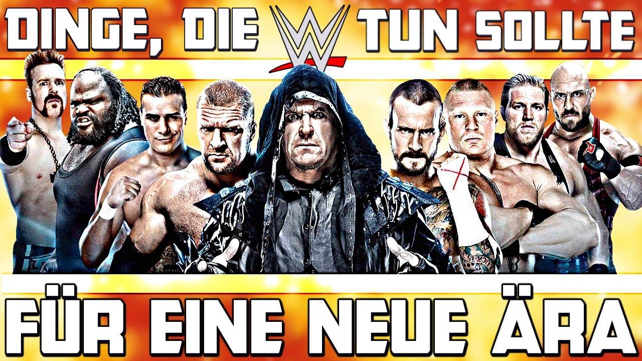 DINGE, die WWE tun sollte, FÜR EINE NEUE ÄRA! (Deutsch/German)