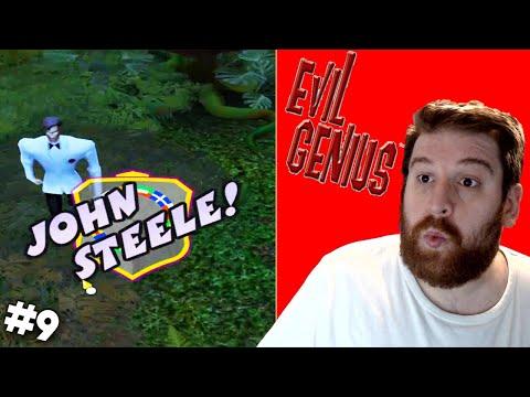 THE NAMES STEELE, JOHN STEELE   Evil Genius   #9