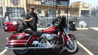 5. 2008 Harley Davidson Ultra Classic Electra Glide