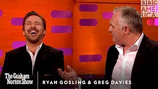 Video Watch Ryan Gosling Lose It Over Greg Davies' Drunk Tale - The Graham Norton Show MP3, 3GP, MP4, WEBM, AVI, FLV Oktober 2018
