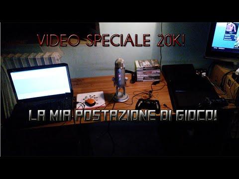 20.000 ISCRITTI! Video di RINGRAZIAMENTO & La mia POSTAZIONE di GIOCO! [VLOG & Gameplay]