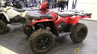 7. 2019 Polaris Sportsman 570 SP Recreational ATV - Walkaround - 2018 Toronto ATV Show