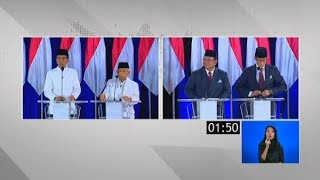 "Video Inilah ""Momen-Momen Panas""Antara Jokowi-Maruf Vs Prabowo-Sandiuno di #DebatKelimaPilpres2019 MP3, 3GP, MP4, WEBM, AVI, FLV Juni 2019"