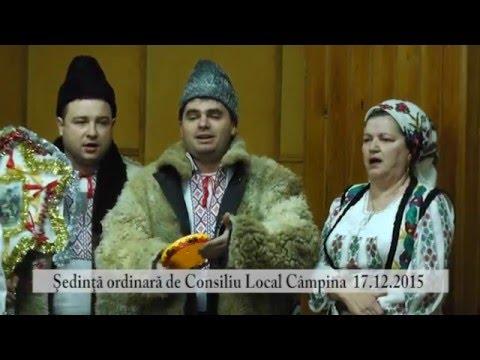 Sedinta Consiliul Local Campina – 17 decembrie 2015 – partea I