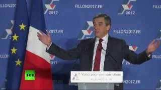 Chassieu France  city images : F. Fillon tient son premier meeting public de l'entre-deux tours près de Lyon (Direct du 22.11)