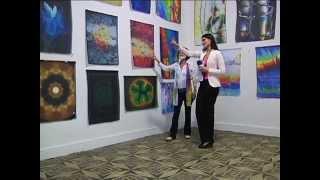 Exposição Arte Fotomicrografia na TV Universitária 10/04/2015