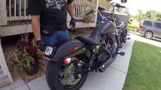 4. 2015 Harley Davidson Street Bob Vance and Hines Short Shots WalkThrough