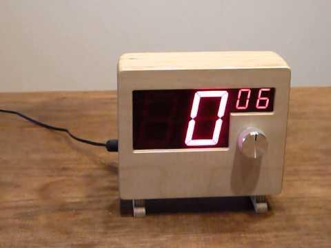 Kurzzeitwecker mit Sensorbedienung und atomgenauer Uhrzeitanzeige