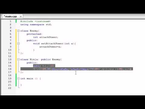 Buckys C++ Programming Tutorials – 55 – Introduction to Polymorphism