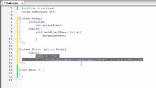 Buckys C++ Programming Tutorials - 55 - Introduction To Polymorphism