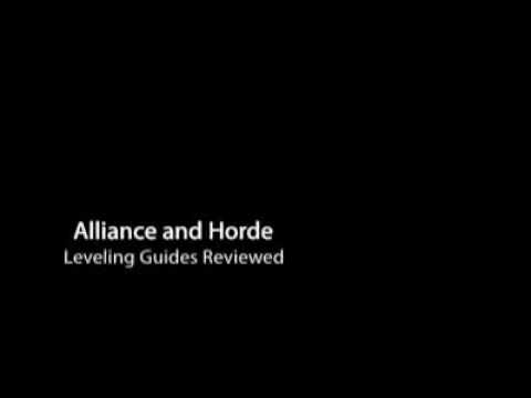 Video of WoW Leveling Guides