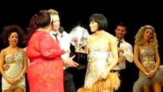 Nicky Byrne winning the Glitterball SCD Tour 09-02-14