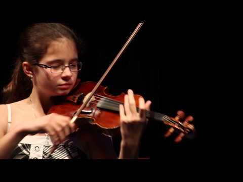 Adj teret a tehetségnek! 2014 - Keczeli-Mészáros Anna (hegedű) produkciója