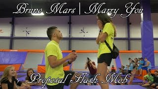 Bruno Mars | Marry You Proposal Flash Mob! Video