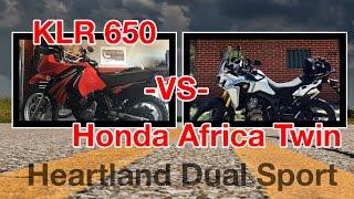 7. Honda Africa Twin CRF1000L VS Kawasaki KLR650