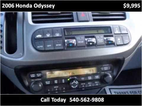 2006 Honda Odyssey Used Cars Roanoke VA