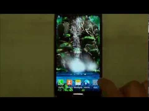 Video of 3D Waterfall Live Wallpaper