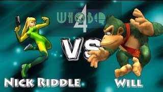 Rare Matchups – Nick Riddle (ZSSamus) vs Will (Donkey Kong) Whobo 4 MM