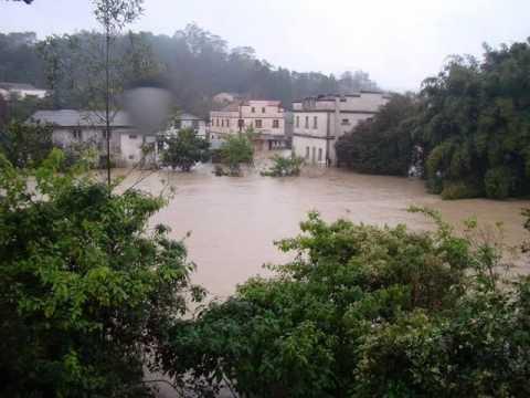 Cidades Tristes: Rio do Sul, Agronômica e Trombudo Central atingidas pelas enchentes