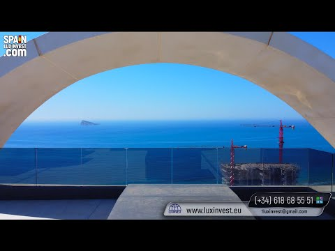854 000€ - 382 м2❗ВЫГОДНО❗200 м до пляжа/Новый пентхаус в Бенидорме/Элитная недвижимость в Испании