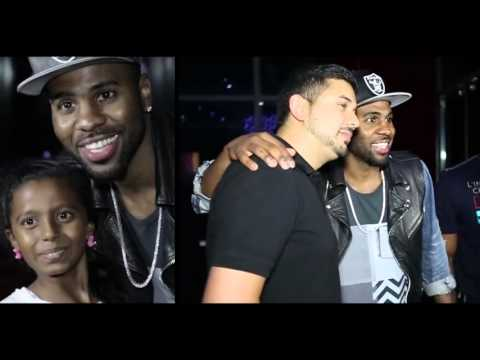 Glimpse of Jason Derulo visit in Tate of Fame