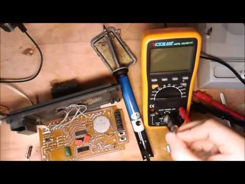 Ремонт часов электроника своими руками