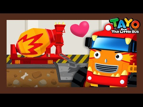 Chris the Concrete Mixer Truck l How to repair cars l Tayo Monster Truck l Tayo the Little Bus