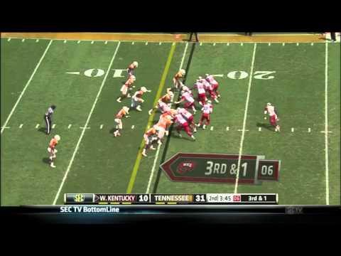 Antonio Andrews vs Tennessee 2013 video.