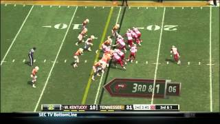 Antonio Andrews vs Tennessee (2013)
