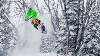 The Evolution of Backcountry Snowbiking by Red Bull