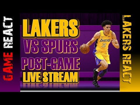 LA Lakers Fan Reaction |San Antonio Spurs vs LA Lakers - Full Game Highlights | Jan 11, 2018 | NBA