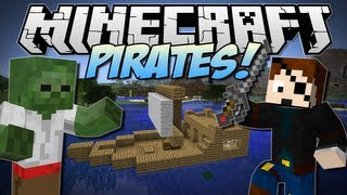 Minecraft   PIRATES! (Undead Pirates, Kegs, Ships&More!!)   Mod Showcase