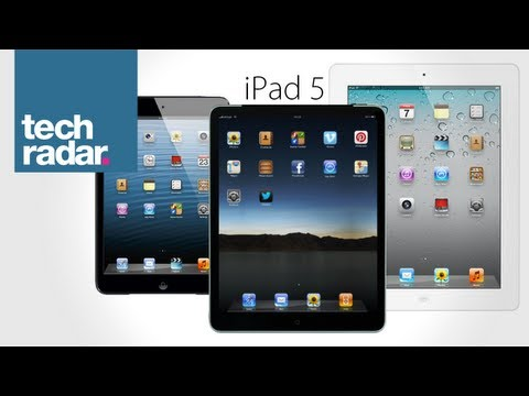 iPad 5 Release Date, News and Rumours