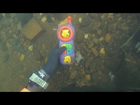 Found 2 Phones, Knife and Jewelry Underwater in River! (Scuba Diving) | DALLMYD_Búvárkodás. Legeslegjobbak