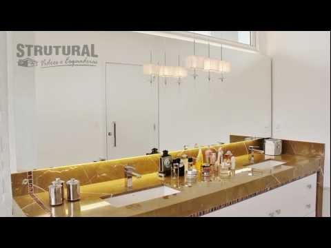 Strutural Comercial 1´ Box, Espelho e Sacadas