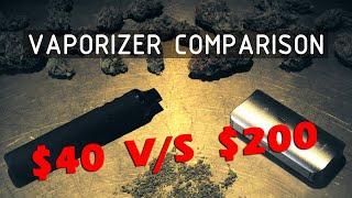 $40 to $200 Dry Herb Vaporizer Comparison (Titan I V/S DaVinci IQ) Cannabasics #119 by RuffHouse Studios
