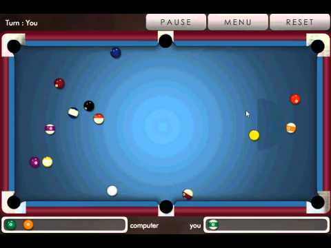 Video of Pool billiard !