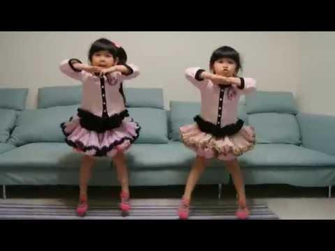 《左左右右雙胞胎》可愛新歌新舞蹈-卡莉怪妞 PONPONPON