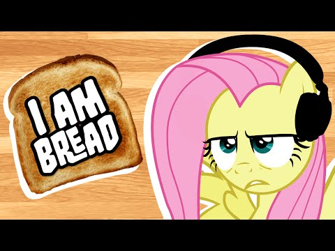Fluttershy Plays I Am Bread 🍉 | No Hope, Everypony.