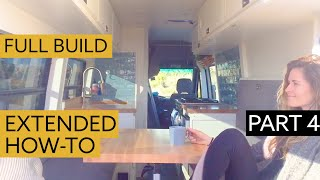 How To Convert a Van into a Chic Home - DETAILED VIEW Part 4:  Painting, Finishing & Mini Tour by Nate Murphy