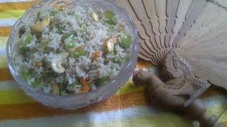 Veg fried rice in tamil